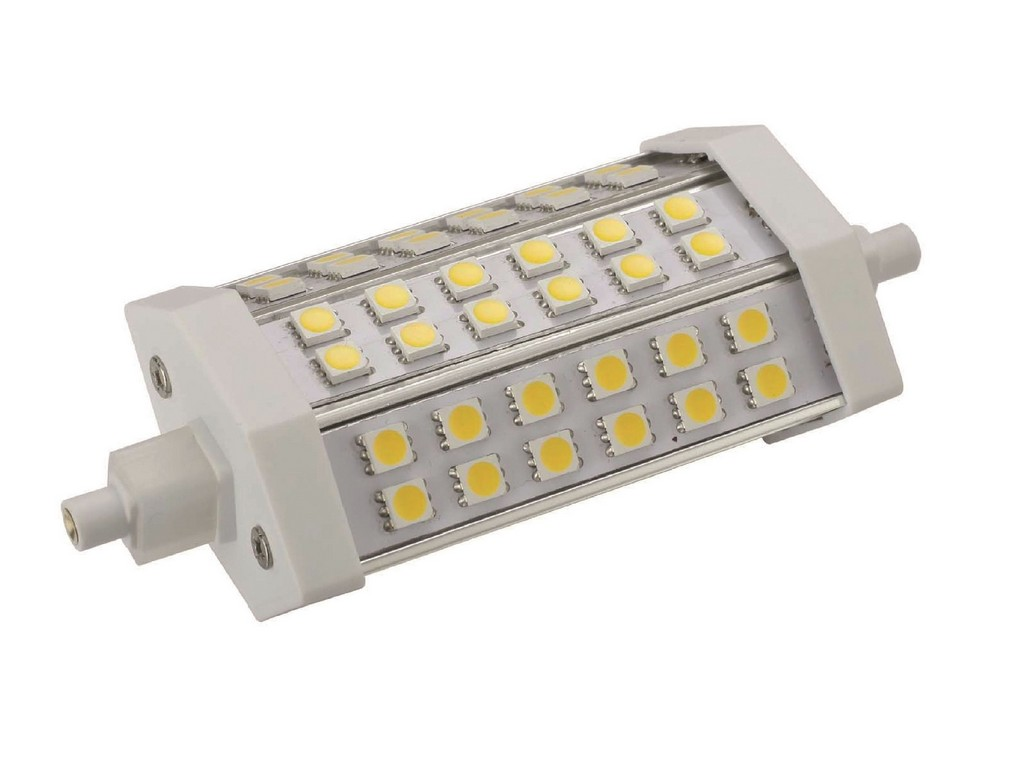 LAMPARA R7S LED 118MM ESPECIAL PROYECTOR R7S 8W 2700K 120º 230V